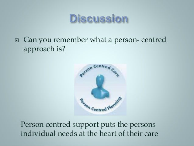 ?promote person centred approaches in health and social care essay Discuss the importance of collaborative working to promote person centred carethe expectation is that your will demonstrate what elements of person- centre.