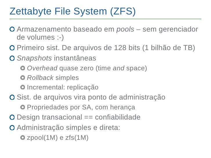 Intro open solaris for Zfs pool design