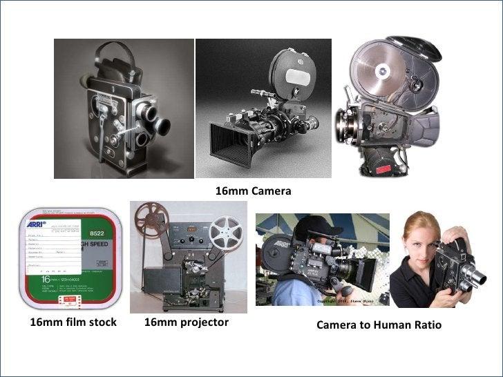 16mm Camera Camera to Human Ratio 16mm film stock 16mm projector