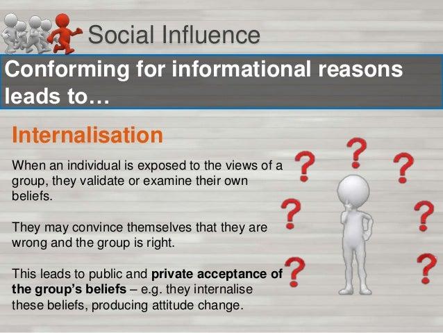 Social Influence Why do we conform?  http://ww w.youtube. com/watc h?v=uuvG h_n3I_M