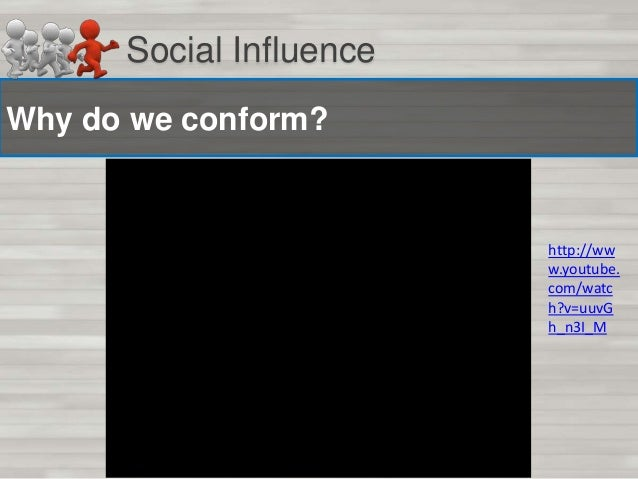 Social Influence Task: Lift Experiment In pairs think about and discuss:  1) What was happening in the experiment? 2) What...