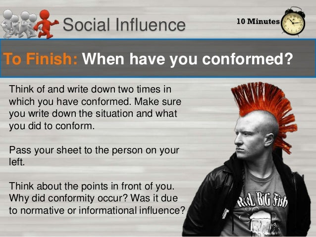 Introduction to Social Psychology - conformity