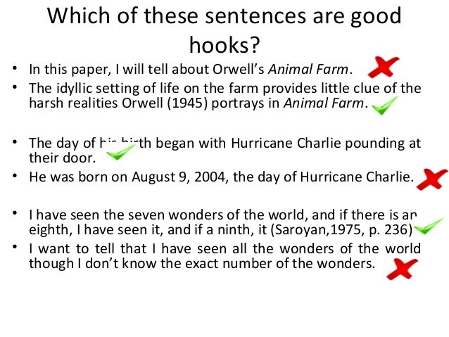 what are some good hooks for a persuasive essay