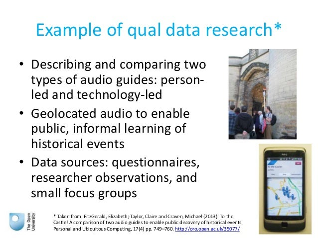 introduction to qualitative and quantitative research Introduction to qualitative research  qualitative research methods  • distinguish qualitative from quantitative research on the basis of key features.
