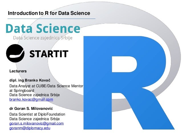 Introduction to R for Data Science :: Session 5 [Data