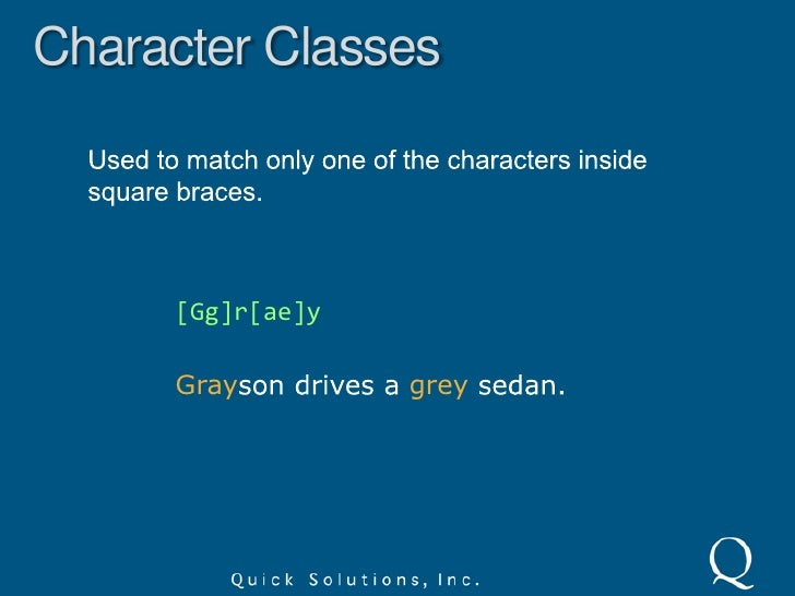 Non-Printable Characters<br />Some literal characters can be escaped to represent non-printable characters.<br /> – tab<b...