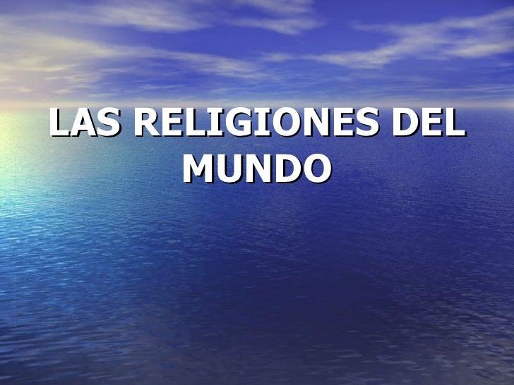 conceptos introductorios historia de religiones