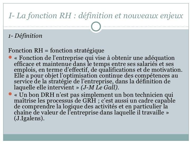 Introduction à la GRH Slide 3