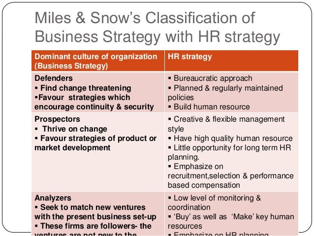 types of hr strategy essays This chapter starts by defining what hr strategies are and what they set out to do, continues with descriptions of different types of strategy with examples, and.