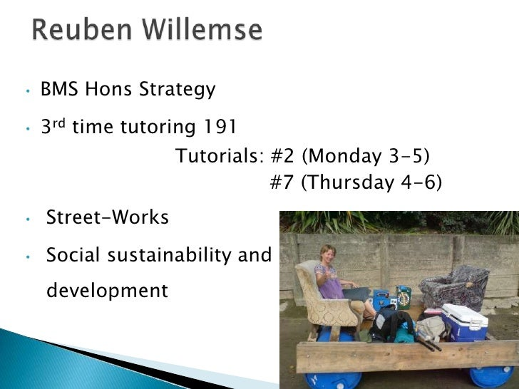 •   BMS Hons Strategy•   3rd time tutoring 191                   Tutorials: #2 (Monday 3-5)                              #...