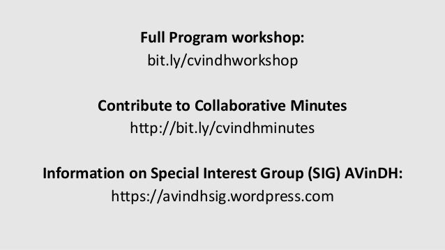 Introduction slides workshop Computer Vision in Digital Humanities
