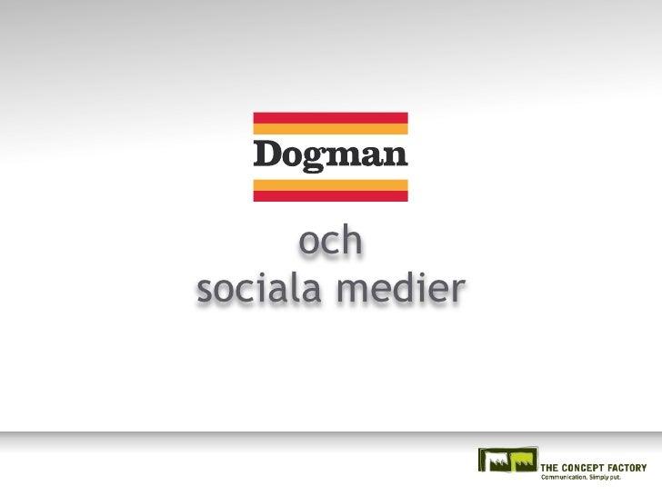 och sociala medier
