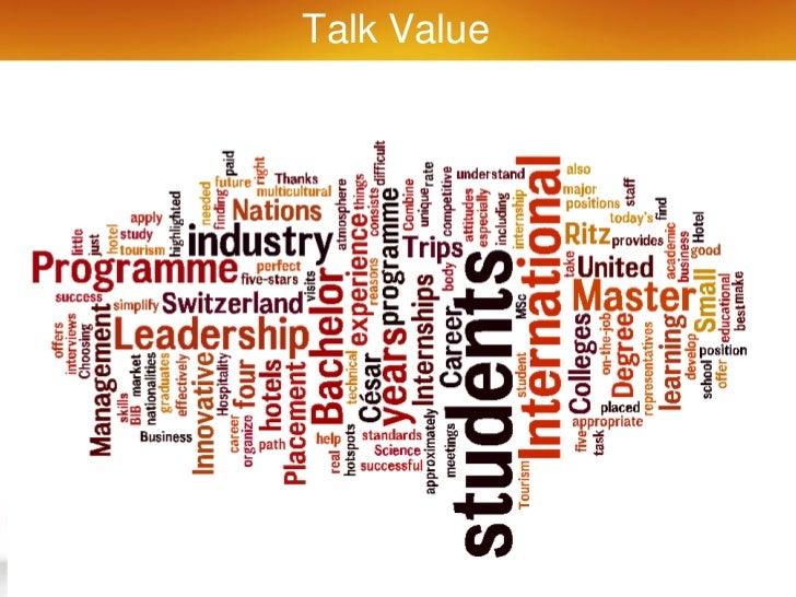 Talk Value