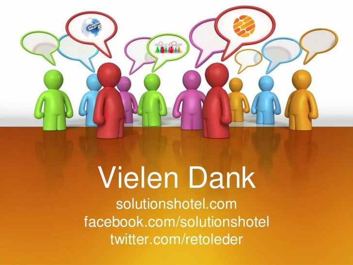 Vielen Dank     solutionshotel.comfacebook.com/solutionshotel    twitter.com/retoleder