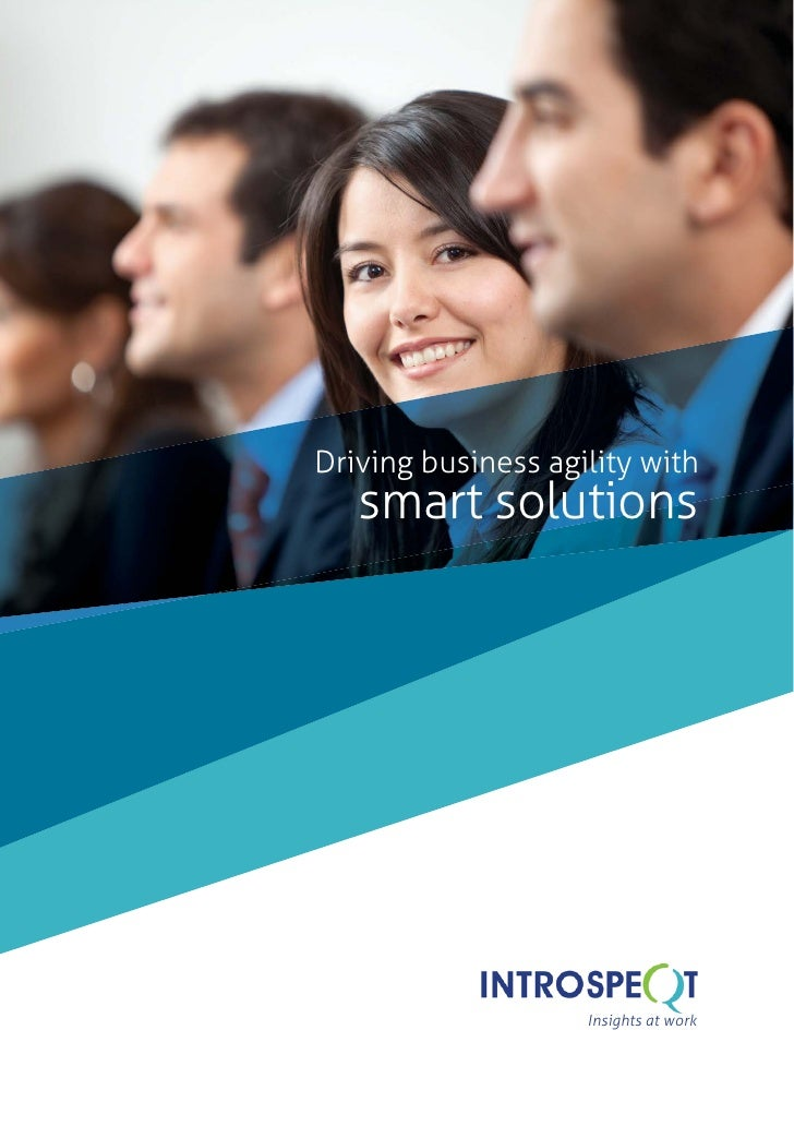 Driving business agility with   smart solutions                    Insights at work