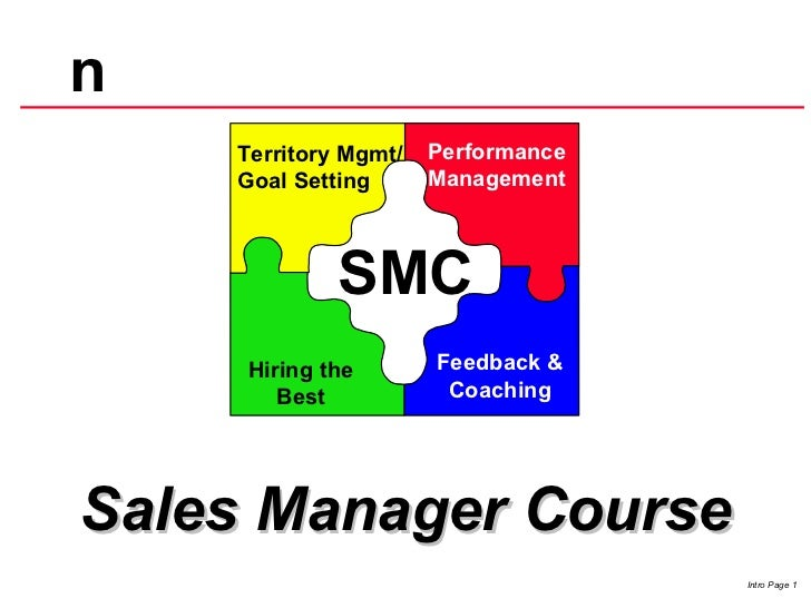 Performance Management Feedback & Coaching Hiring the Best SMC Performance Management  Sales Manager Course Territory Mgm...