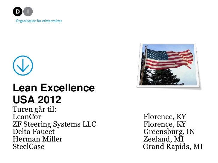 Christina             Lean Excellence USA                                                                      11.   sep. ...
