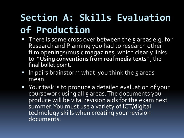 a level ict coursework evaluation