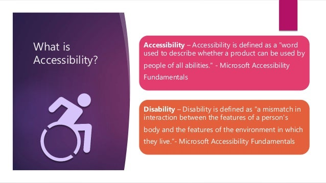 Intro to Accessible Web Design Slide 2