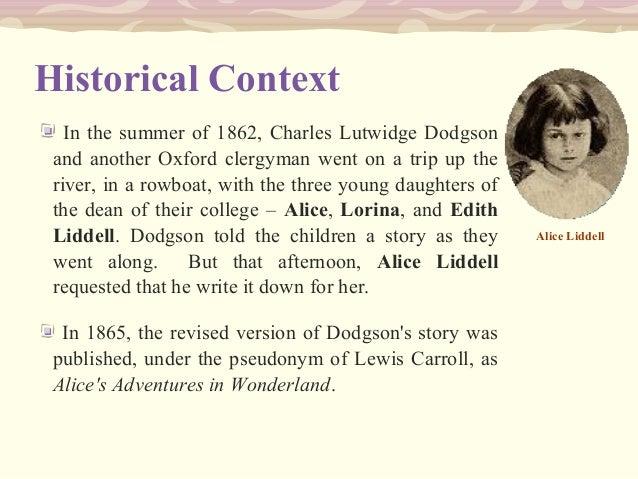 Lewis Carroll short biography