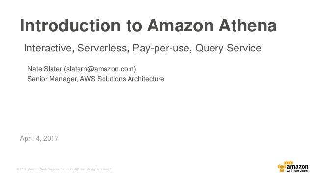Introduction to Amazon Athena