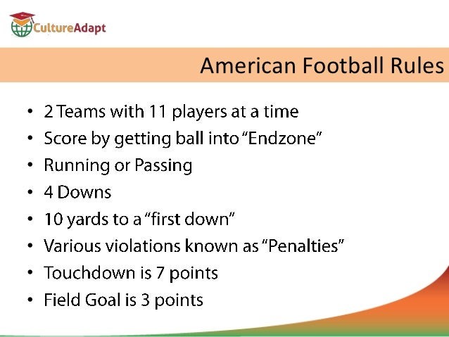 football american rules