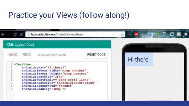 Intro to Android : Making your first App!