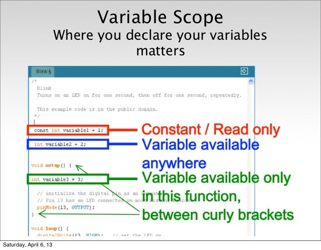 arduino how to make a variable