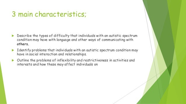unit ld210 introductory awareness of autistic spectrum conditions Ocr 2010 1 unit title: introductory awareness of autistic spectrum conditions  unit sector reference: ld 210 level: 2 credit value: 2 guided learning hours.