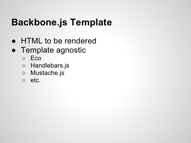 intro to backbone js with rails
