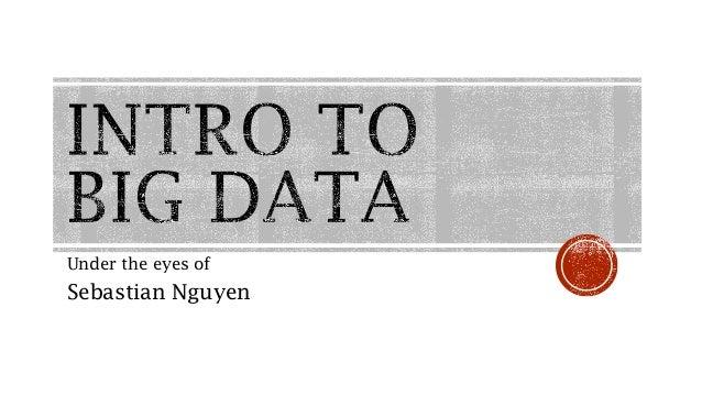 Under the eyes of  Sebastian Nguyen