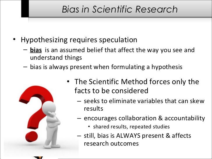 true knowledge or bias and selection essay What is bias and how can it affect the outcomes from research  between the results from a study and the true state of affairs • bias is often introduced when a .