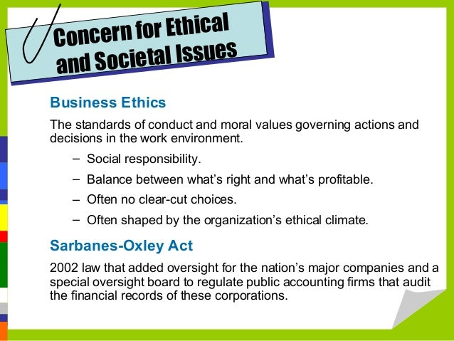 why are ethical issues a major concern in organizations To help organizations solve that problem, the authors examine the factors that influence moral conduct, the ethical issues that arise specifically in charitable of professionals—lawyers, accountants, financial analysts, board members, and even officers—lacked important facts raising moral as well as legal concerns.