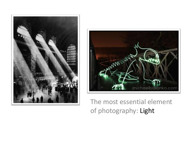 The most essential element of photography: Light