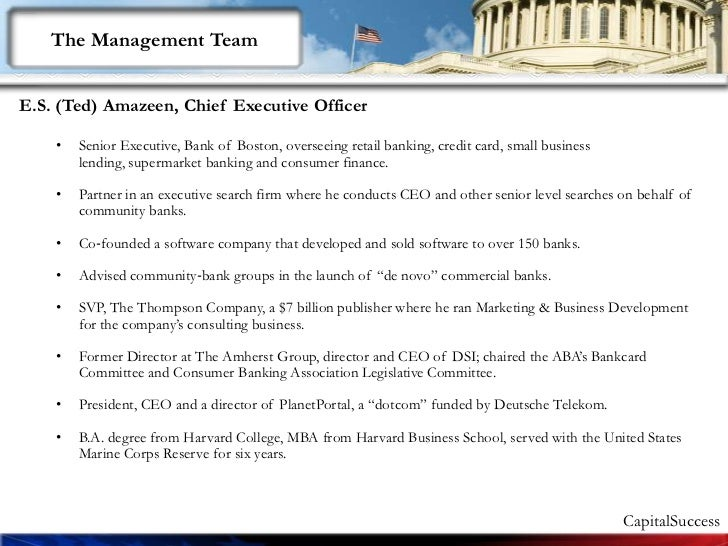 Intro To Capital Success Ceo 1.51 Slide 2