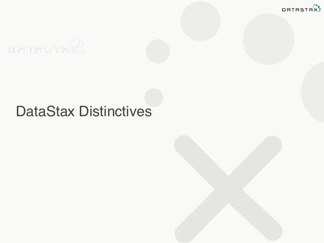 DataStax Distinctives