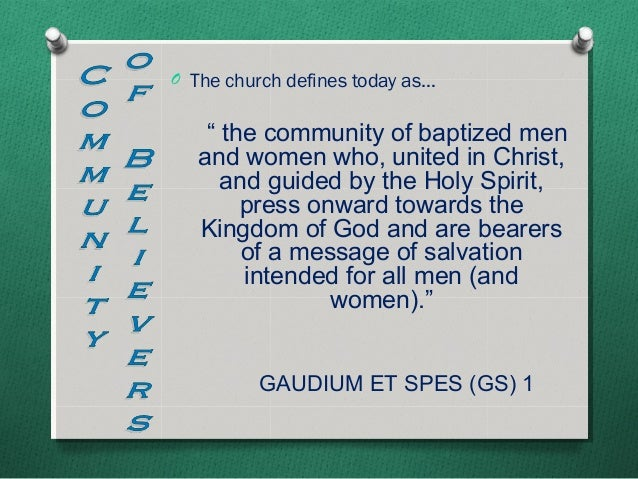 summary of gaudium et spes Summary gaudium et spes: pastoral constitution on the church in the modern world gaudium et spes affirms that the church must read the.