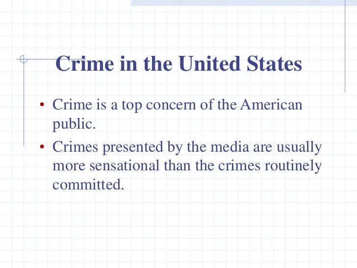 """an introduction to the us criminal The response from the criminal justice system was a backlash toward tougher sentences and the expansion of the system as a whole much of where we stand today is still rooted in the """"get tough on crime"""" mentality that has given us over-crowded prisons and related concerns."""