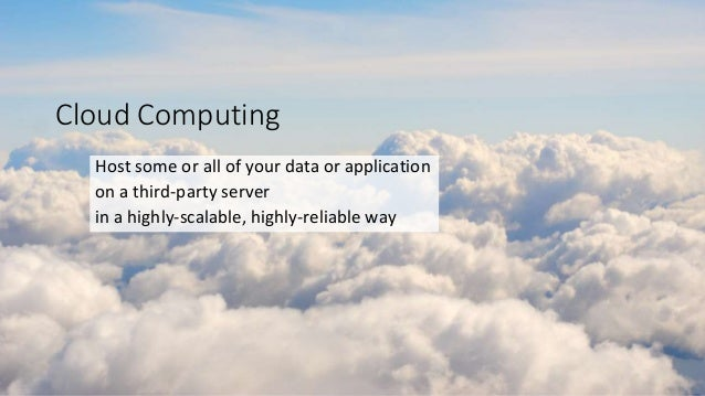 Intro to cloud and azure Slide 3