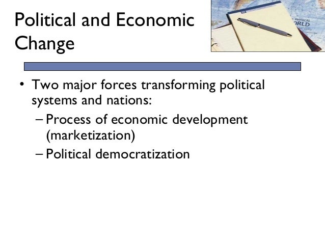 An analysis of political regimes and economic changes in comparative politics