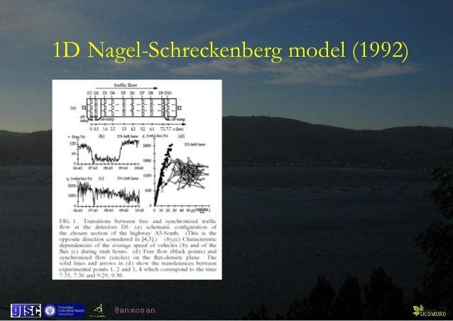 @anxosan 1D Nagel-Schreckenberg model (1992)