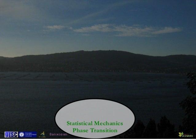 @anxosan Statistical Mechanics  Phase Transition