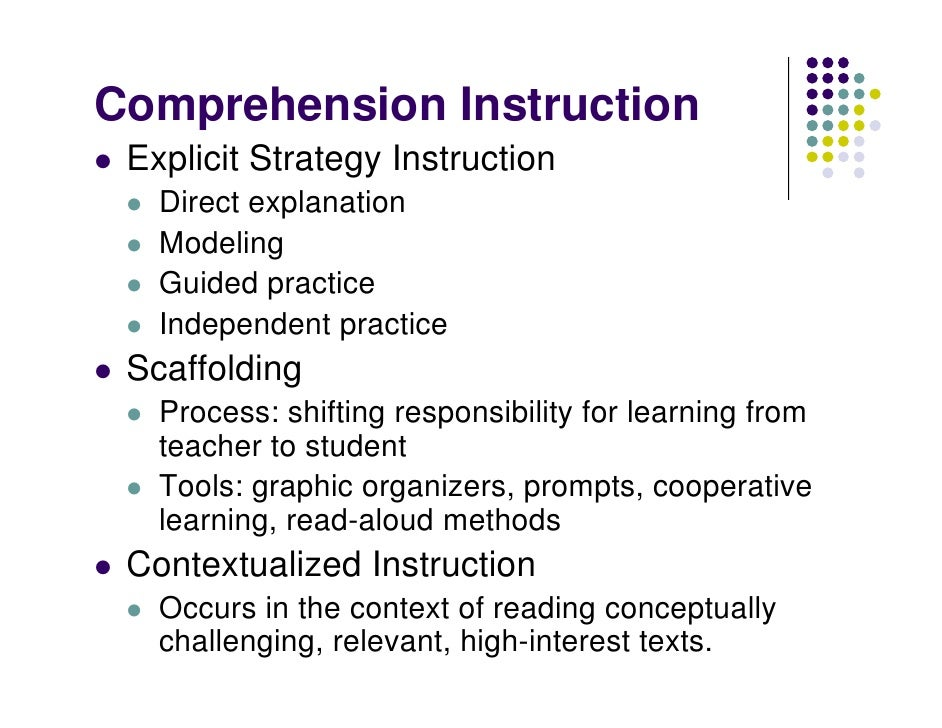 Intro To Comprehension