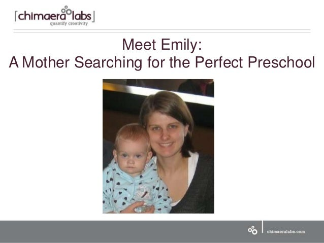 Meet Emily: A Mother Searching for the Perfect Preschool