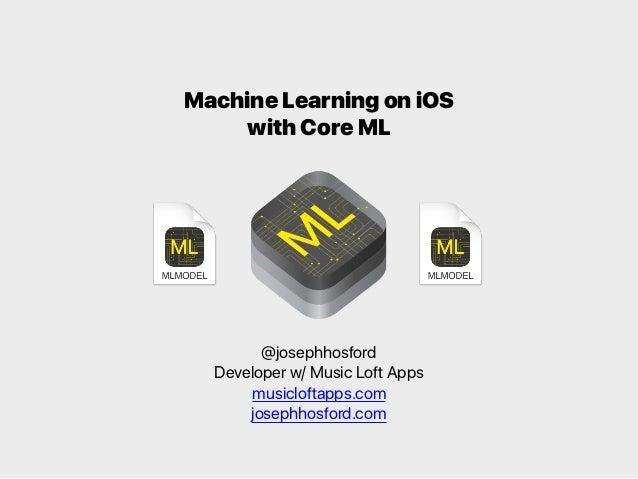 ios machine learning