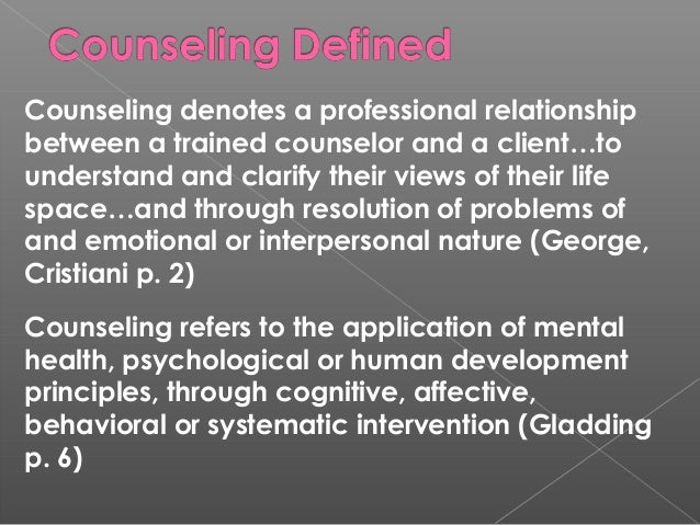 counseling note