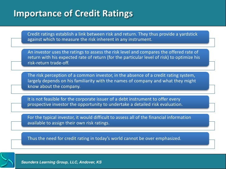 credit rating agencies How does a credit report work your credit report details your credit history credit reporting agencies collect information from credit providers who subscribe to.