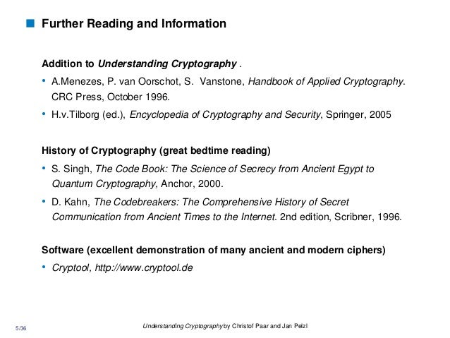 5 36 Understanding Cryptography