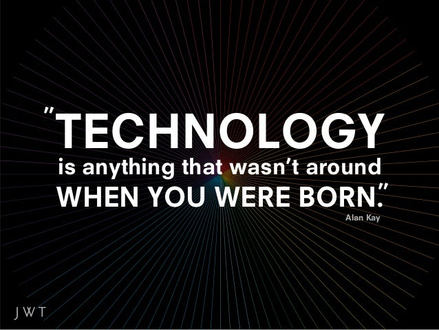 THE INTERNET           THE MOBILE PHONE       THE COMPUTER GAMEis not technology      is not technology      is not techno...