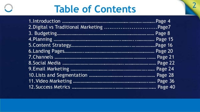 Intro to Digital Marketing (slideshare) Slide 2
